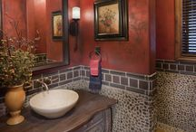 Bath/Powder Rooms / by Phyllis Wilson