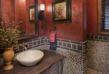 Bath/Powder Rooms / by Phyllis Wilson