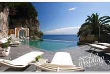 Antonino's Venue - Amalfi / One of the most beautiful venue, suspended between the azure of the sky and the blue of the sea!