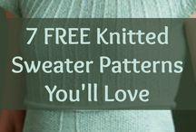 Sweater knitting patterns