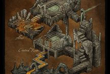 map dungeon 3d