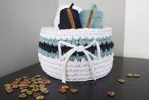 szydełkowanie - t-shirt yarn / dla początkujących, i w chwilach zawahania