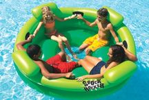 Differents Pool Floats