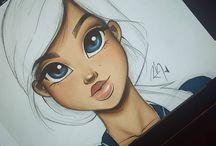 Gesichterzeichnen
