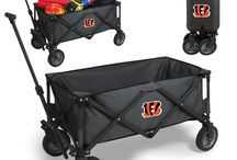 NFL - Cincinnati Bengals Tailgating Gear and Fan Cave Decor / Find and Buy the latest gear for tailgaters, fan accessories for your car or truck, and Decor for you Bengal Man Cave