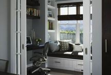 Gray walls white accents
