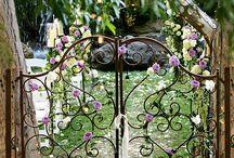 gates, fences - bramy, ogrodzenia