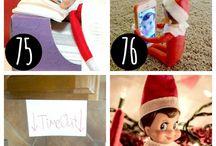 Elf on the Shelf Idea's