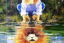 Petit Tatouage Tete De Lion
