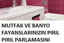 fayans temizliği ve banyo temizliği için