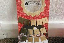 "Kanban Christmas Collection 2015 / Papercraft and Card Inspiration using our ""Kanban Christmas Collection"" 2015"