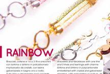 RAINBOW A/W 2014 2015 Collection! / RAINBOW A/W 2014 2015 Collection! Bracciali, collane e orecchini by birikini ! www.ibirikini.com