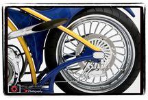 Motorcycle detail art
