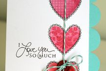 Stampin' for Love / valentines, wedding and anniversary cards with stampin up stuff