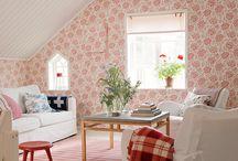Attic room ideas / decorating ideas