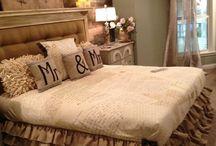Master bedroom / by Amanda Bailey