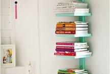 Libreros, etc.