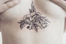minimalism / tattoos as an art form charming and refined