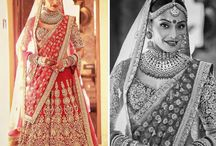 Celebrity Brides / Get inspiration for your wedding day from these Celebrity Brides who rocked their wedding looks!