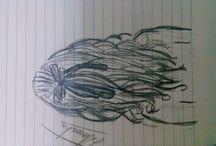karakalem çizimleri