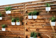 Fence Planters / In this board we share some creative fence planter ideas. Click follow to get inspired.