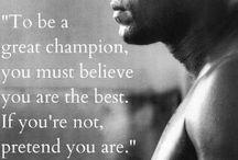 Ali the greatest boxer ever!