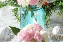 Bloemetje erbij / Kleurige mooie bloemstukjes