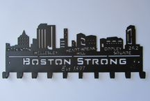 Comm. ave hockey logo / by Kaitlyn Conway
