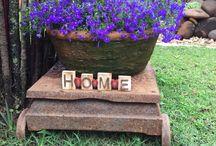 Jardim para sonhar / Flores , vasos, idéias.