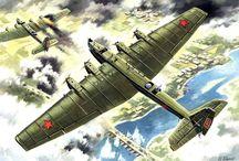 Steampunk planes