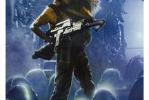 Aliens / Anything related to the movie franchise Alien.