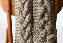 Knit scurfs