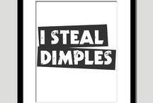 Dip those dimples / by sabrina jai