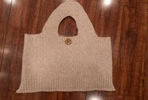Boiled Wool / Boiled wool purses and fingerless gloves / by Laura Ramsey