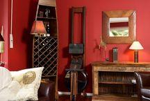 Ambiance Home Fitness / Ambiance des espaces Home Fitness. Inspiration pour votre espace fitness à la maison. #rameur #fitness #design #sport