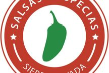 Salsa Sierra Nevada / Hot sauces, spice rubs and curry sauces