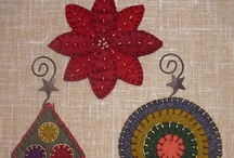 Wool Applique - Christmas/Winter / by Lynn Dingle