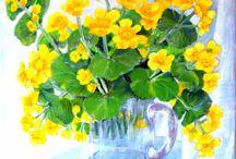 Art.Malarstwo olejne. Kwiaty / Obrazy olejne.Kwiaty