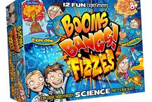 Boardgames and Science Kits / I was asked commissioned by John Adams Leisure LTD to create their Science and Discovery range.