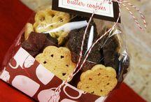 Embalagens de biscoitinhos