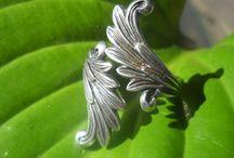 Vintage zilveren sieraden / Vintage sieraden