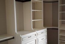 Closet Shelving / Great closet organizing ideas.
