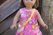 American Girl Ideas (Sewing Projects, Crafts & More) / A round-up of free American Girl doll crafts and patterns.