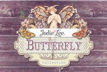 The Butterfly Collection / A sweet, vintage essence, gorgeous colors, and beautiful patterns are effortlessly combined in the Butterfly Collection by Jodie Lee. With papers, flowers, crystals, wood icons, tags, and more...you will find everything you need in this stunning collection! / by Prima Marketing
