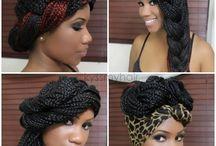 Braids Creative Style