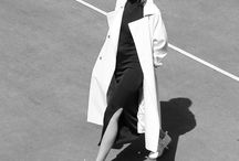 Silhouette/outfit inspiration / #Minimal #Monocrome #Sleek