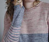 разноцветные свитер