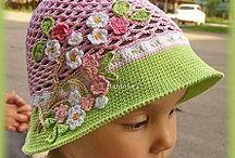 Csak kép - horgolt kalap