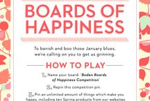 Boden Boards Of Happiness Competition / My favourite Spring Boden products and other things that make me smile! :)