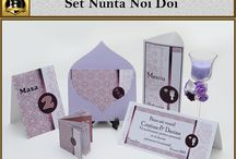 Set Nunta Noi Doi / marturii personalizate nunta